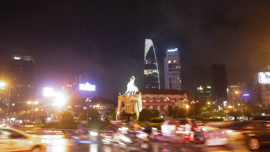 Ho Chi Minh City/Saigon at night