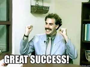 borat great success