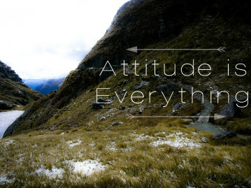 Attitude is everything 2