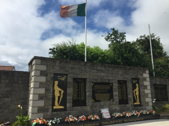 IRA memorial garden