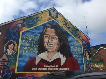 Bobby Sands mural, Falls Road