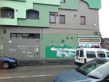 Grafitti in the Falls