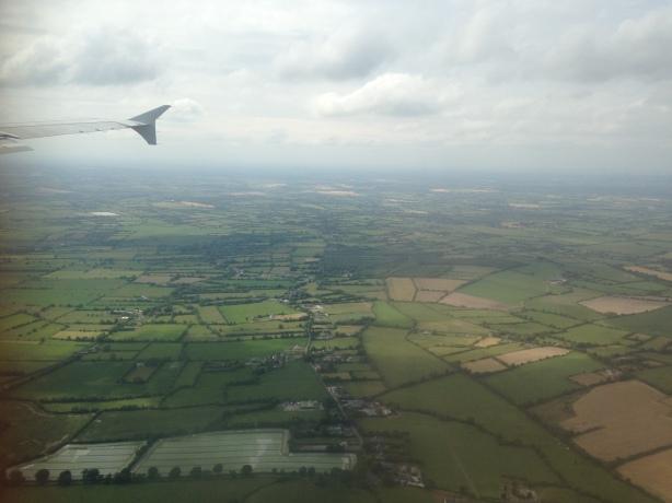 Landing in Dublin