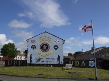 UDA mural in the Shankill