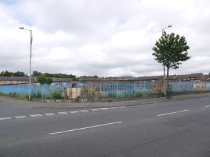 Wasteland in the Shankill