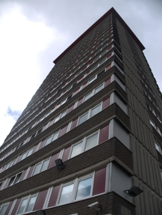 Divis Tower, the Falls Road