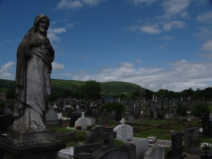 Graves in Milltown Cemetary