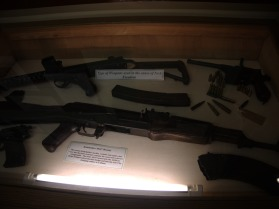 Weapons used by the IRA, in the Irish Republican History Museum