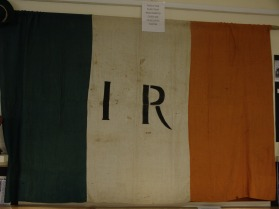 A flag in the Irish Republican History Musuem