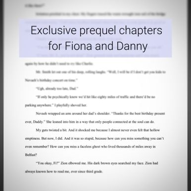 Exclusive prequel chapters for Fiona and Danny